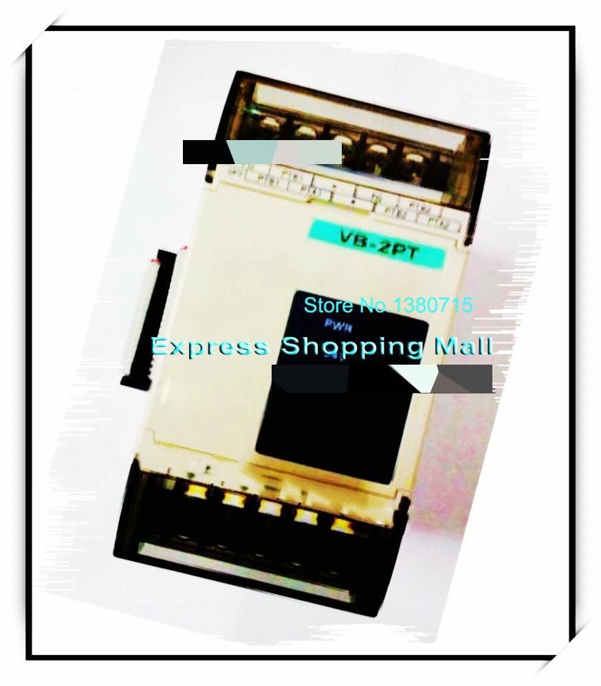 New Original VB-2PT PLC 2 channel PT-100 Temperature Input Module special Module 100% new and original g6i d22a ls lg plc input module