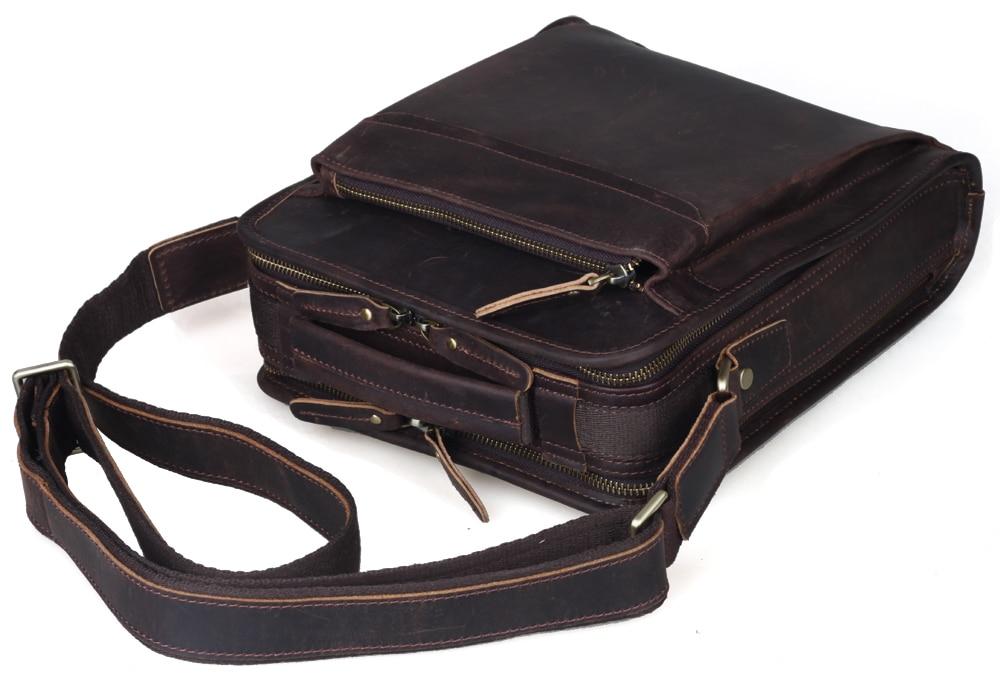 TIPOVANJE navpične vreče iz pravega usnja Tote Organizer Bag za - Torbice - Fotografija 2