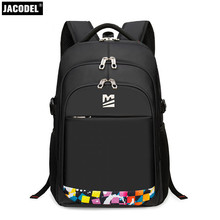 Jacodel Giant Laptop computer Backpack 19 18 17 Inch Laptop computer Bag for Asus Dell 15.6 14 Ladies Males Lenovo HP Laptop Bag Pocket book Bag Case