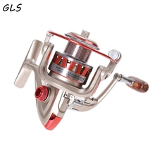 2018 New all metal Rock Spinning reel fishing reel DF2000-DF5000 10BB 5.5:1 spinning fishing reels fishing tackle Fishing wheel