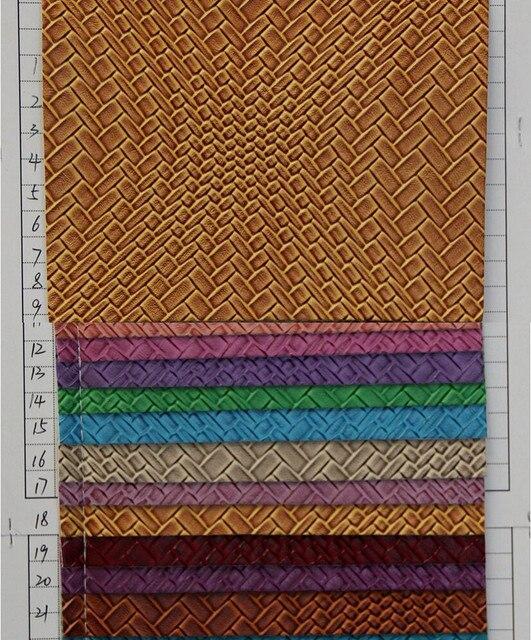 Hersteller billige großhandel halb pu leder transparent farbige ...