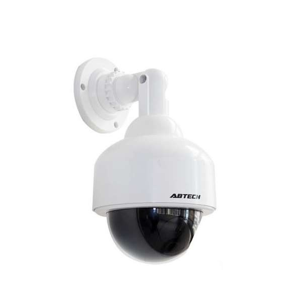 Outdoor Dome Fake Security Camera With Blinking Light