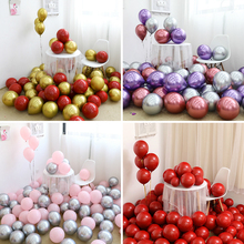 Wedding Birthday Party Supplies  Thicken Ruby Red Latex Balloon Chromium Color Balloons Anniversary Holiday Decoration