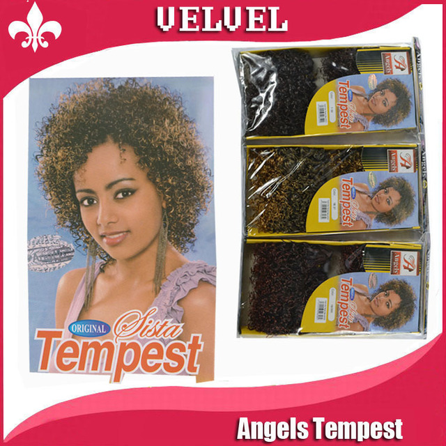 Angels Tempest Accessories Each Two Tone Hair Weaves Min Curly