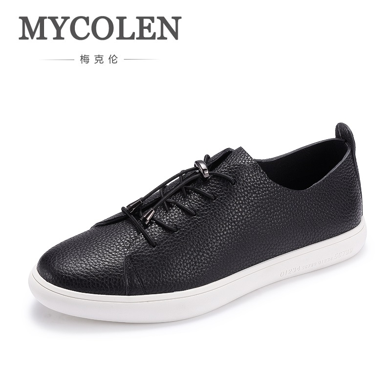 MYCOLEN New Fashion Men's Gym Shoes Outdoor Casual Flats Designer Lightweight Trainers Breathable Shoes Men Calzado-Hombre mycolen 2018 new fashion men casual shoes breathable fashion shoes flats style outdoor shoes men zapatillas hombre casual