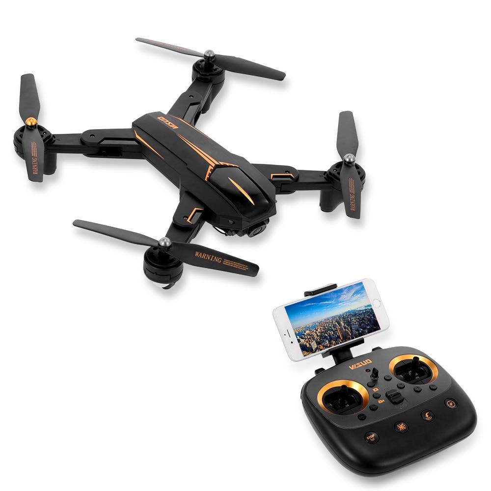 Зрительно XS812 Drone 2,4G gps 5G Wi Fi 720 P 1080 P Широкий формат Камера Дрон складной Wi Fi FPV высота Удержание RC Quadcopter в E58 X12