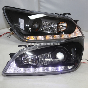 For Lexus IS200 IS300 LED Headlight Projector Lens 2001-2005 Year Black Housing JY