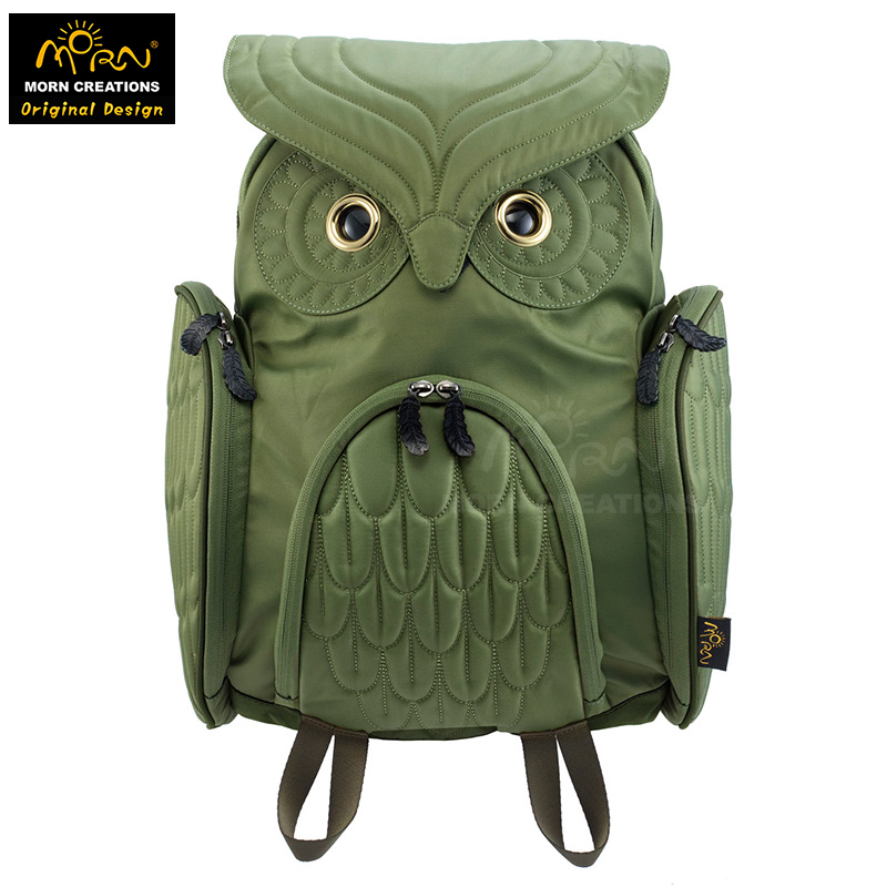 Morn Creations Original Design Sunrise Ideas Typical  Owl Backpack (L) Tide Bag Shoulder Bag самокат ridex invader 230 200