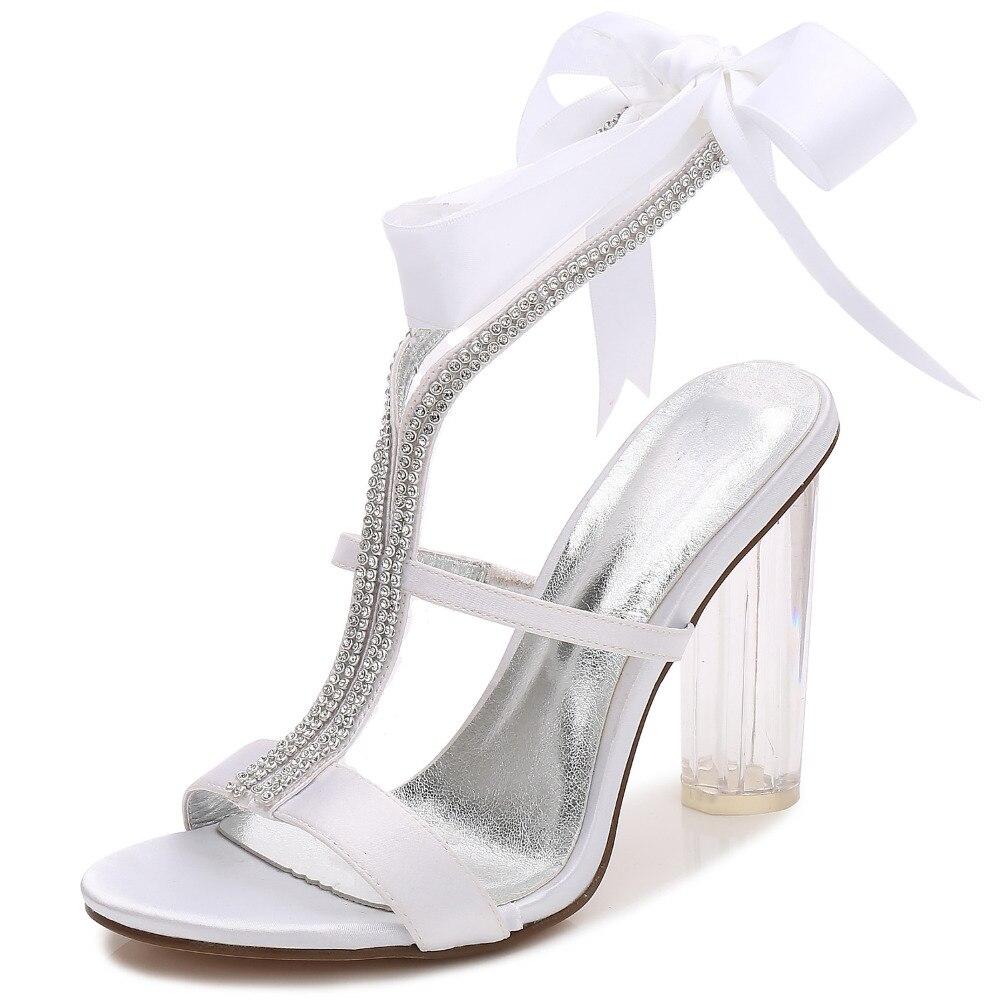 Bloque señora vestido verano talón dulce de noche cm grueso 10 zapatos  satén OTO4rq 1a6c635e16ece