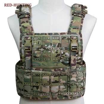 Multicam PCPC Tactical Vest Airsoft CS Paintball Protective Tactical Waistcoat Camouflage Hunting Vest