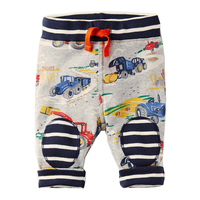 Kidsalon Baby Boys Pants Cotton 2017 Autumn Brand Toddler Boys Clothes Harem Pants Character Trousers Children