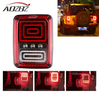 2Pcs US Standard Right And Left Car LED Right Rear Reversing Brake Light Turn Signal Tail