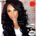 "2016 Hot Sale New Synthetic Wigs 26"" Long Wave Body Black Hair Wig For African Americans Women Free shipping"