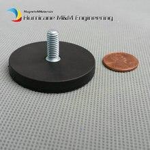 Оптовая продажа монтажа магнитный диск диаметром 22 43 66 88 мм свет Холдинг мужской Нитки Spotlight держатель NdFeB сильный неодима магнит