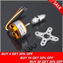 free shipping!! Brushless DC Electric Motor A2208 KV1100 KV1400 KV2600  for RC Airplanes/Boat/Vehicle Model Glider Plane Kit цена и фото