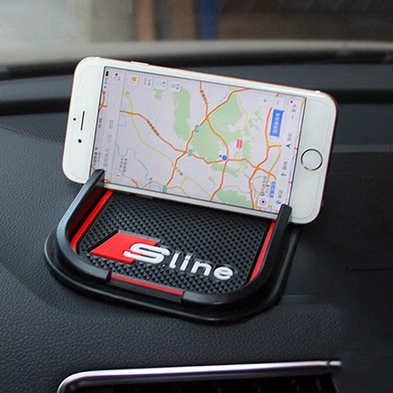 Interior GPS Support Car Accessories Mobile Phone Anti Slip Pad For Mazda
