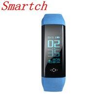 Smartch M2S smart Сердечного ритма крови Давление измеритель пульса Браслет фитнес-часы smartband для IOS Android PK Xiaomi группа 2 м
