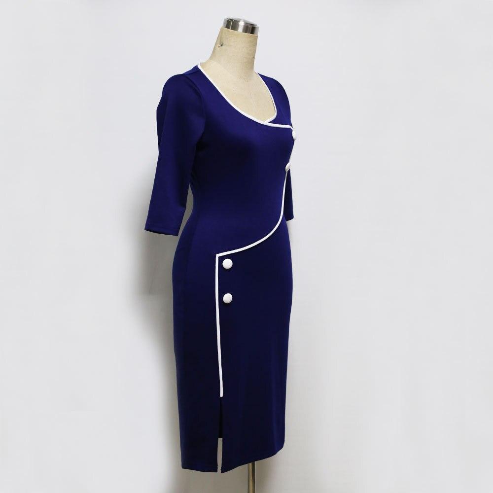 Талғампаздық Әйелдер Vintage Кеңсе жұмыс - Әйелдер киімі - фото 3