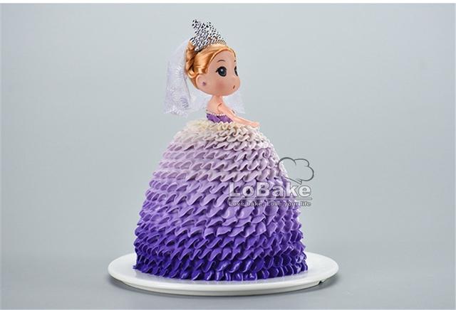 Barbie Skirt Shape Cake Tin