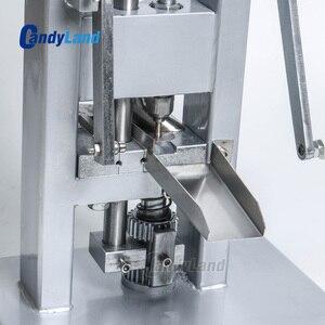 Image 2 - Machine de presse de pilule de CandyLand TDP0 pour le comprimé de Calcium de tranche de lait de poinçon simple faisant le simulateur de presse actionné à la main
