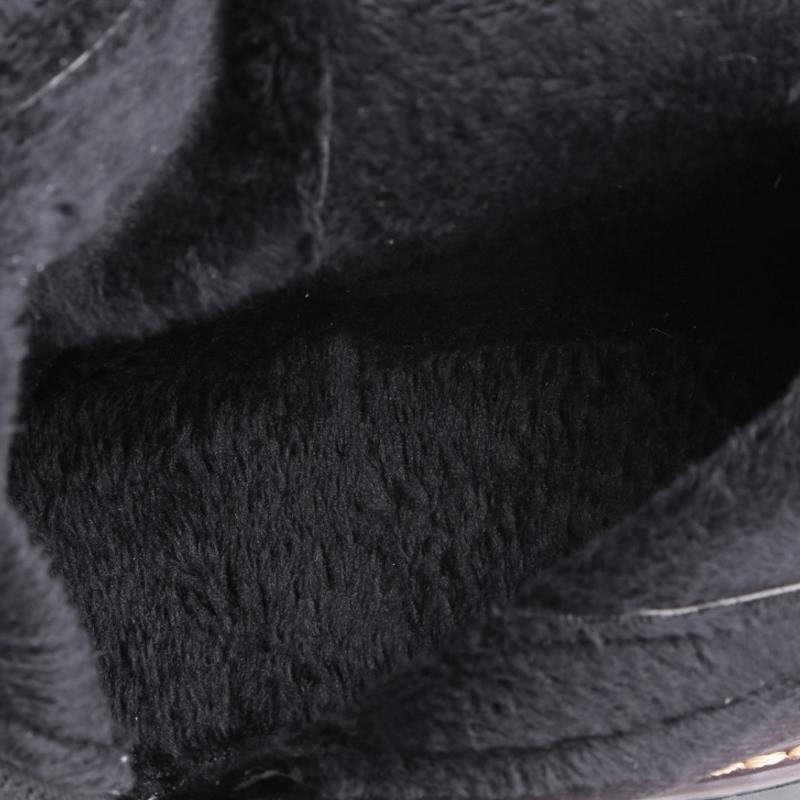 34 Du New Appartements En Genou Femmes Chaussures Long 43 Noir Moto dessus Cuir Bottes Cuisse Haute Talon Taille Bas Seude Botas 2EDY9IWH