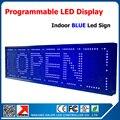 Бесплатная доставка открытый программируемый из светодиодов признаки открыть из светодиодов реклама экран 1/4 p10 одного синего из светодиодов объявлений 27 * 8 ''
