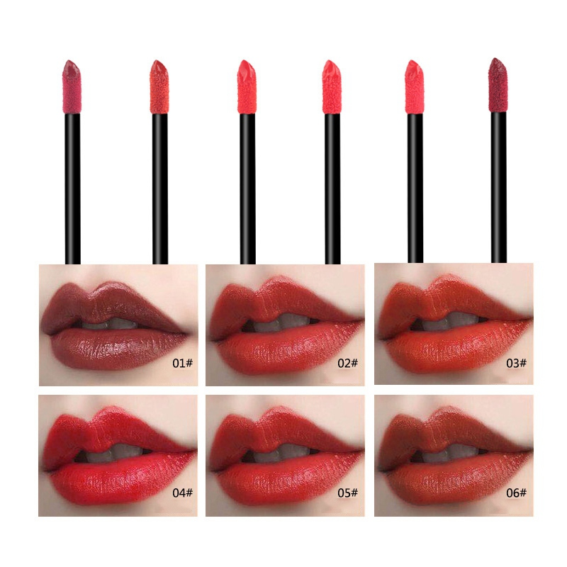 2018New Waterproof Matte Liquid Lipstick make up Moisturizer Smooth Lip Stick Long Lasting Lip Gloss Cosmetic Beauty Makeup 1