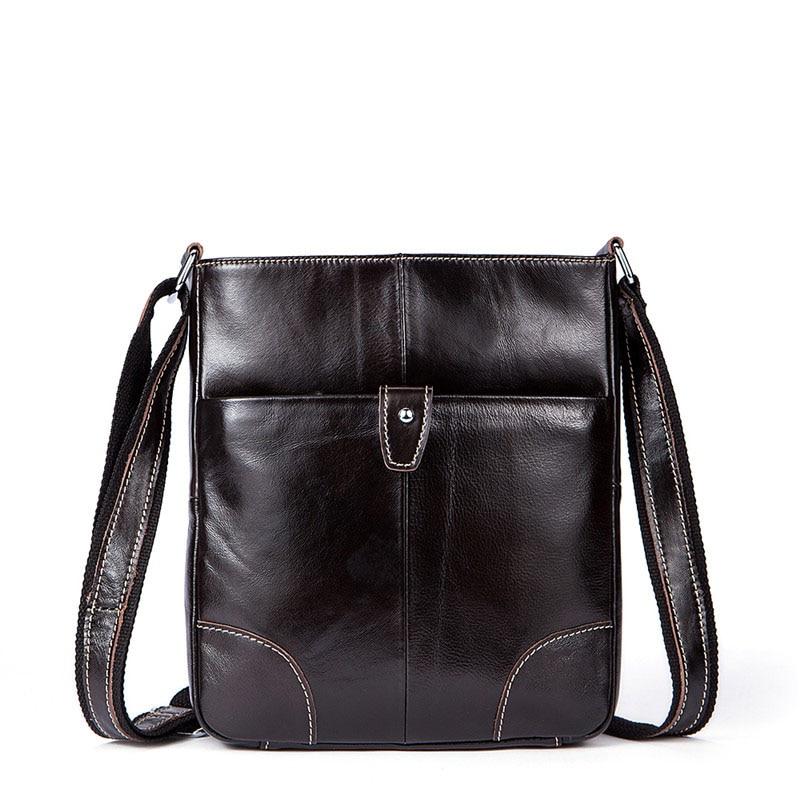 Cow Leather Messenger Bag Men Bag Handbags Fashion Casual Tote Shoulder Bag Small Male Man Flap Leather Crossbody Bags for Men lanspace men s leather shoulder bag small bag handmade men bag fashion crossbody bag
