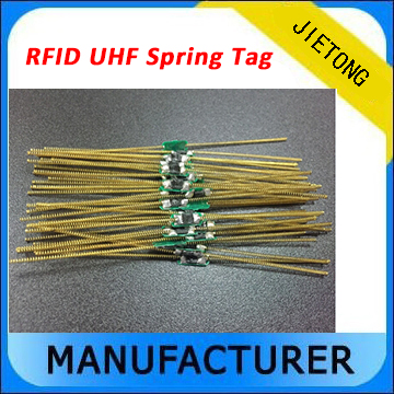Frequency 900Mhz Mini Passive Anti Theft Electronic UHF RFID Lable Spring Tire Tag /RFID Flexible Spring Vehicle Tire Tag rfid tire patch tag label long range surface adhesive paste rubber alien h3 uhf tire tag for vehicle access control