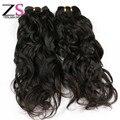 ZSF 7A produtos de cabelo indiano remy onda cabelo natural virgem 100g trama do cabelo virgem remy não processado cru cabelo virgem