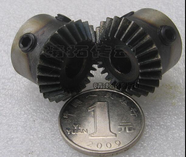 2PCS 1.5M 1:1 Bevel Gear 24teeth 1.5 Mod M=1.5Modulus Ratio 1:1 Bore 12mm Steel Right Angle Transmission parts machine parts DIY 2pcs 1 5m 15t 45t bevel gear 15 teeth 45 teeth 1 5 mod ratio 1 3 steel right angle transmission parts machine diy