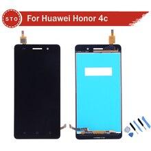 Calidad aaa para huawei honor 4c pantalla lcd con pantalla táctil digitalizador asamblea + herramientas de envío gratis