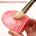 1 UNIDS Herramienta de Limpieza del Cepillo de la Fundación Pincel de Maquillaje Profesional Cosméticos Cepillos de Silicona Tool Cleaner Alta Calidad