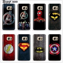 Deadpool Marvel Avengers Homem de ferro TPU Caixa Do Telefone Para Samsung Galaxy S6 S7 borda S8 S9 Mais J5 J7 A3 A5 A7 2016 2017 A8 Mais 2018(China)