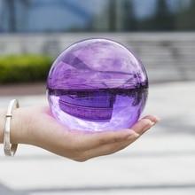 Photography Crystal Ball Ornament FengShui Globe Divination Quartz Magic Glass Ball Home Decor Sphere Lens ball