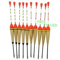 Amur Brand 40 Pieces Set Collection Fishing Bobber Cork Floats Kit Antenna Balsa Wood 2G 3G