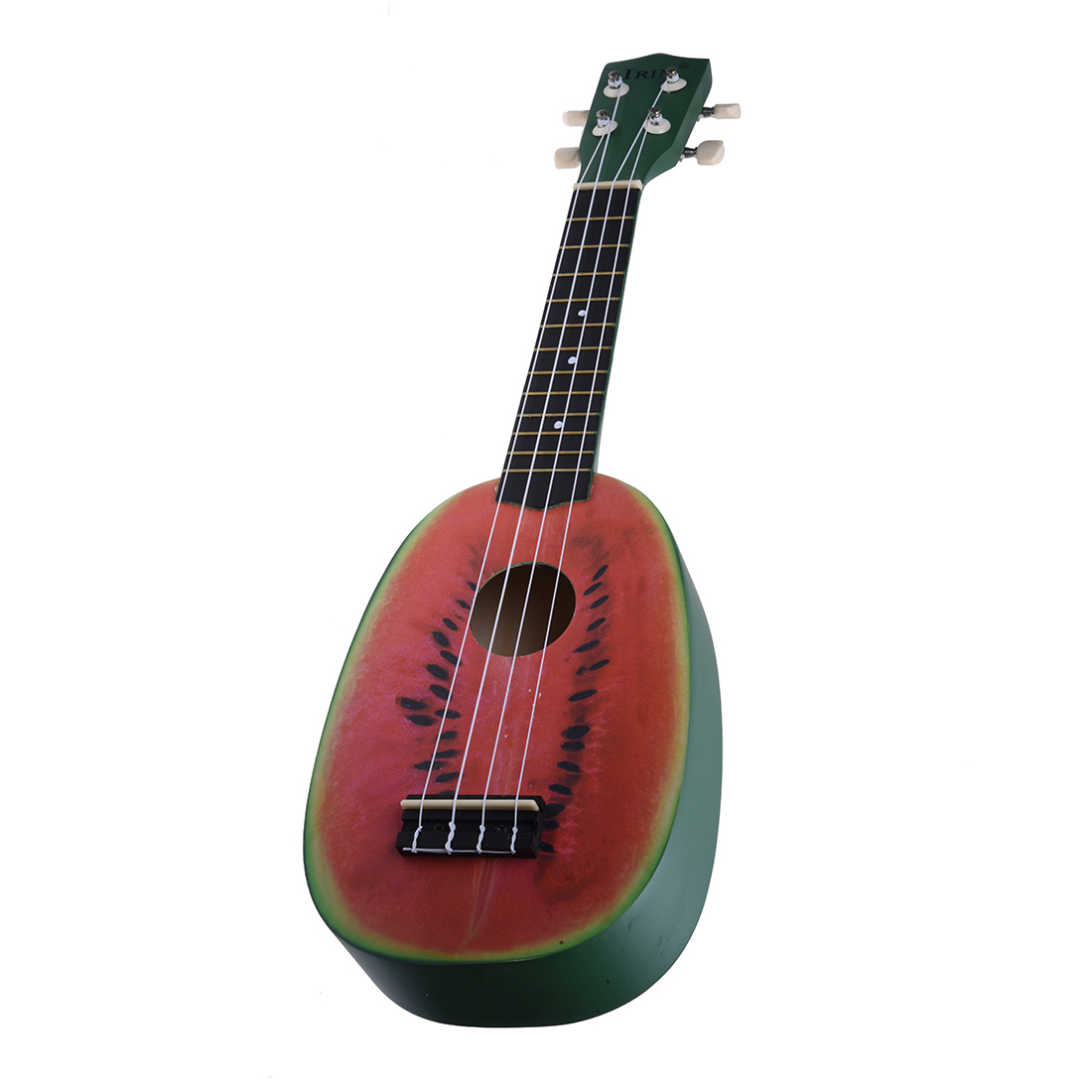 New IRIN 21 Ukelele 4 Strings Colorful Lovely Watermelon / Kiwi Basswood Stringed Musical Instrument Christmas Gift Present