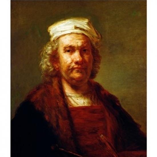 Self Portrait  c.1660 Poster Print by Rembrandt van Rijn (18 x 24)