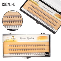 ROSALIND False Eyelashes Extension Full Strip Lashes for women professional make up Natural long patches for eyelash extension