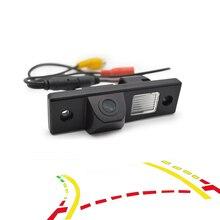 IDDOG Intelligente Dinamica Traiettoria Tracce Videocamera vista posteriore Dell'automobile di Inverso di Retrovisione di backup parcheggio retrovisore Della Macchina Fotografica