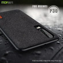 for huawei p30 pro case cover MOFI P30 lite fabric Case for huawei P30 Back Cover Case p30pro Soft Silicone full Cover Case