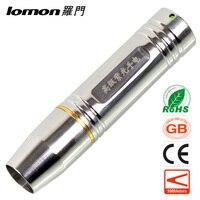 Stainless Steel LED Flashlight Purple Light Fluorescent Agent Detection Jewelry Jade Gem Testing Torch Jade Identification Torch