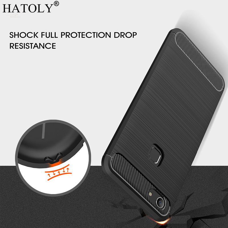 HATOLY Cover Vivo Y83 Case Phone Bag Soft Silicone Phone Cover Case for Vivo Y83 Case for BBK Vivo Y83 Y83A With Fingerprint