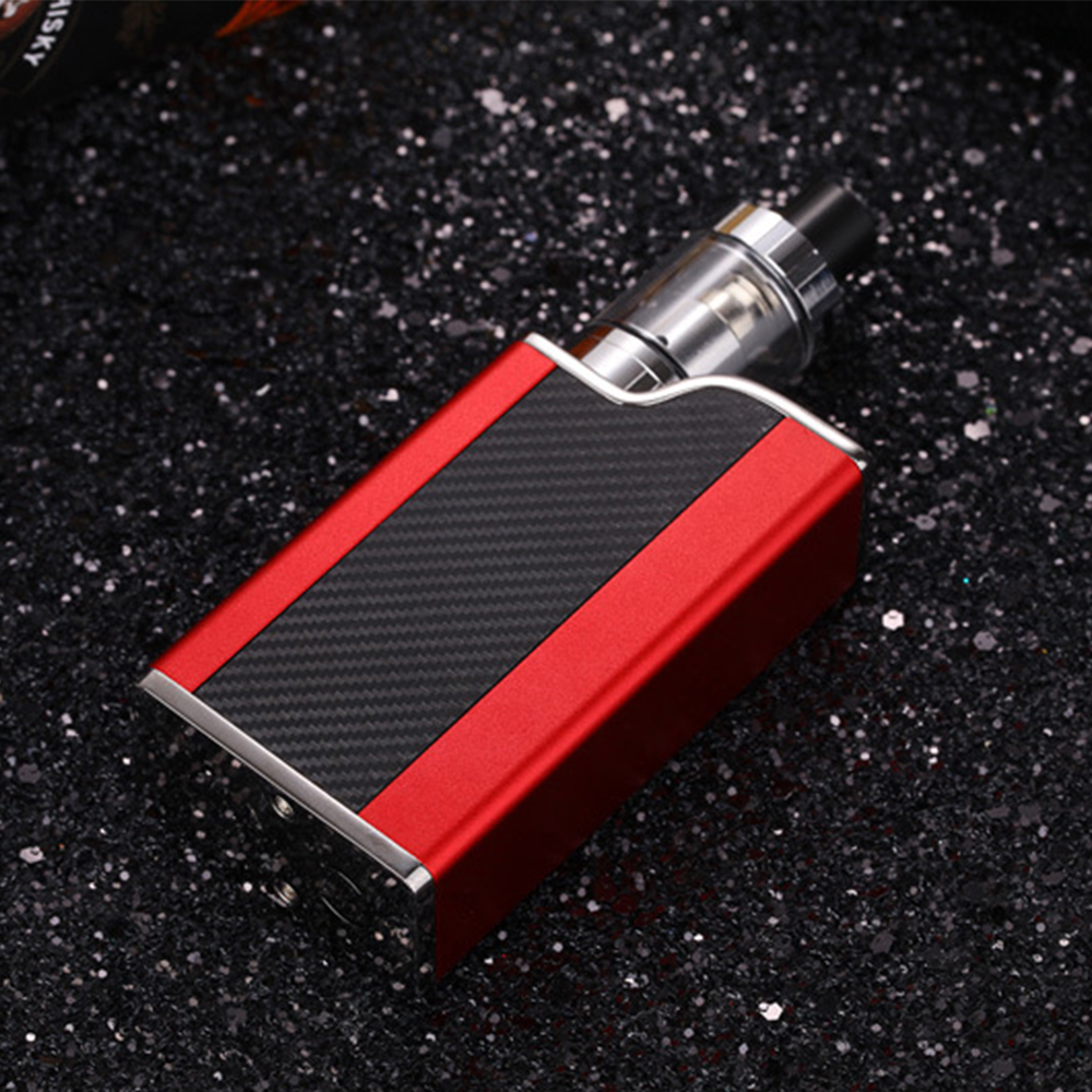 DOTENT Polar Night 150W Starter Kit 1500mAh Battery Box Mod 2ml Atomizer 510 Thread Metal Body Electronic Cigarette Vape Kit
