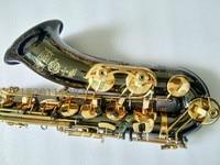 Free Black Nickel Gold France Selmer Tenor Saxophone 802 Sax B Flat Case Sax Professional Mouthpiece