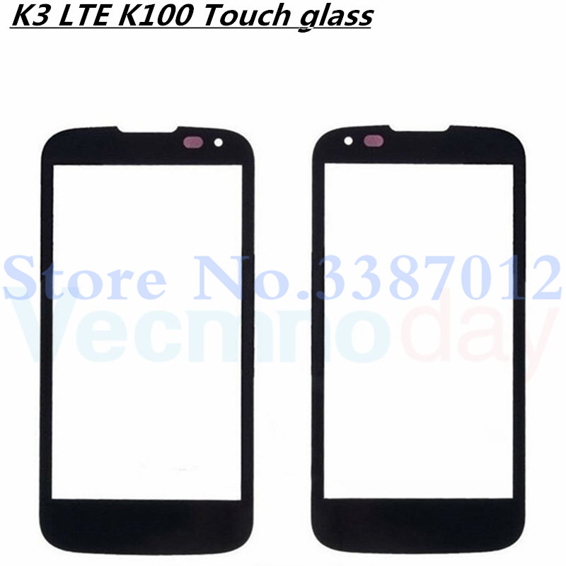 4.5'' Replacement LCD Front Touch Screen Glass Outer Lens Cover For LG K3 LTE K100 K100DS LS450 With Logo