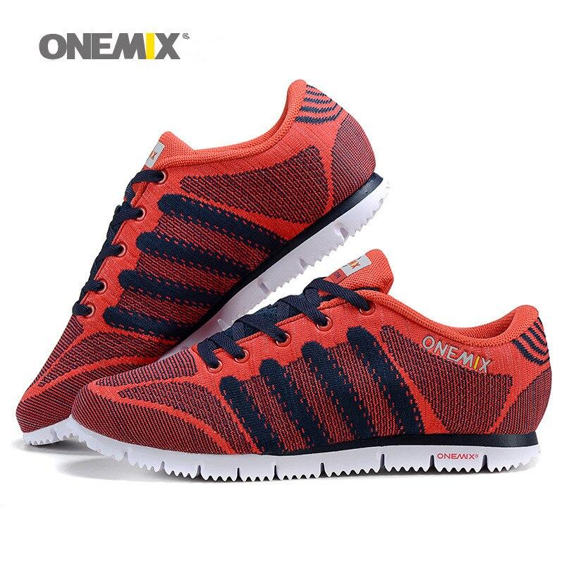 ONEMIX  hombre deportes al aire libre zapatos atléticos de los zapatos corriente