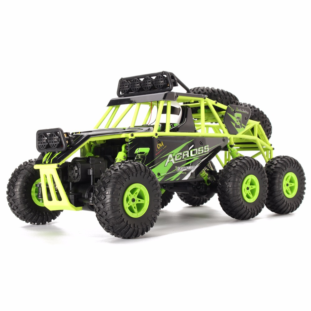 WLtoys 18628 1/18 2.4G Electric 6WD RC Racing Car Off-Road Rock Crawler Climbing Vehicle RTR Toys high speed rc car 20404 cross country electric suv 4wd monster truck racing car 1 20 45km h off road desert rc rock crawler rtr