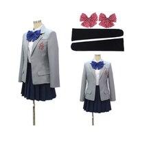 anime Gekkan cosplay üniforması