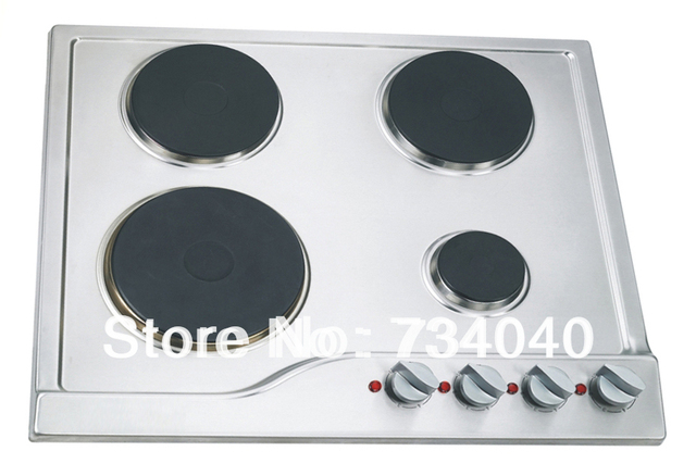 Electric Cooktop 4 Burner Stove Hot Plate Kitchen Liance